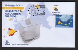 4.- SPAIN ESPAGNE 2019 FDC ELECTIONS TO THE EUROPEAN PARLIAMENT - Instituciones Europeas