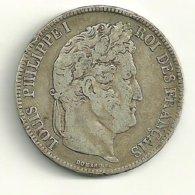 5 F Louis-Philippe Ier 1834 W - Francia