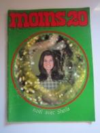 MOINS 20 Numéro 32 Janvier 1968 NOEL Avec SHEILA ALAIN DELON MONTY RICHARD ANTHONY BEE GEES TURTLES - Musique