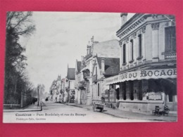 CAUDERAN - Parc Bordelais Et Rue Du Bocage - Belle Prespective Avec Devanture Cafe Du Bocage - Voyagée En 1905 - TBE - Francia