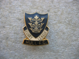 Pin's Rugby League, Club De HULL FC (ville Anglaise) - Rugby