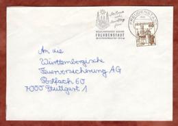 Brief, Marksburg, MS Freudenstadt, Nach Stuttgart 1980 (79301) - BRD