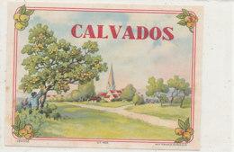 AN 551 / ETIQUETTE   CALVADOS N° 468 - Etiquettes