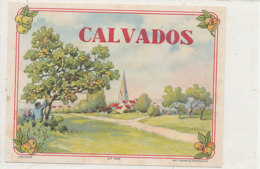 AN 551 / ETIQUETTE   CALVADOS N° 468 - Unclassified
