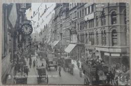 LONDON - CHEAPSIDE LOOKING WEST - Attelage - Raphael Tuck & Sons - Circulé: 1905 - 2 Scans. - London Suburbs
