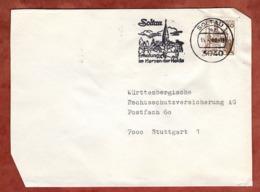 Brief, Marksburg, MS Soltau, Nach Stuttgart 1980 (79302) - BRD