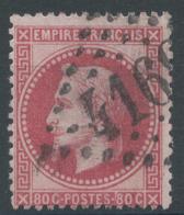 Lot N°50689  N°32, Oblit GC 4160 Verteillac, Dordogne (23), Ind 6 - 1863-1870 Napoléon III Lauré
