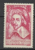 France N°305  Richelieu  Neuf * *   TB- MNH VF Soldé à  Moins De 15 % ! ! ! - Francia