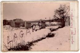 Limoux (11) L'Aude Glacée 1891 - Foto