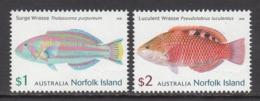 2018 Norfolk Island Fish Poisson Complete Set Of 2 @  Below Face Value - Norfolk Island