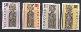 Faroe Islands MNH Michel Nr 93/96 From 1984 / Catw 4.00 EUR - Islas Faeroes