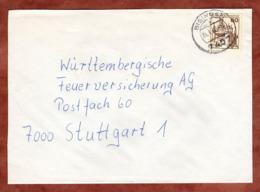 Brief, Marksburg, Bisingen Nach Stuttgart 1980 (79305) - BRD