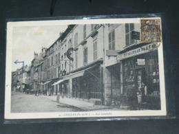 CHELLES     1910 /  VUE RUE ANIMEE &  COMMERCE  .....  EDITEUR - Chelles