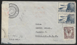 1941 BOLIVIEN BOLIVIA - AIRMAIL FLUGPOST - CENSOR STRIP OKW N. BERLIN - Bolivia