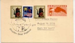 ETATS-UNIS. Entier Postal. Oak Orchard Lighthouse,Phare. Point Breeze (Kent), NY , Year 2008, - Fari