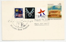 ETATS-UNIS. Entier Postal. Oak Orchard Lighthouse,Phare. Point Breeze (Kent), NY , Year 2008, - 2001-10