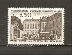 Francia-France Nº Yvert 1387 (MNH/**) - Francia