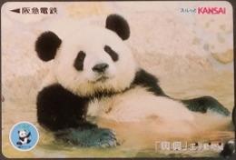 Prepaidcard  Japan -  Panda - Japan