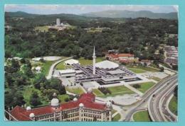 MALESIA MALAYSIA NATIONAL MOSQUE AND PARLIAMENT HOUSE KUALA LUMPUR 1973 - Malesia