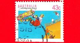 AUSTRALIA  - Usato -  1990 - Sports - Skateboard - 43 - 1990-99 Elizabeth II