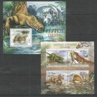 MOZAMBIQUE - MNH - 2012 - Animals - Prehistorics - Dinosaurs - Stamps