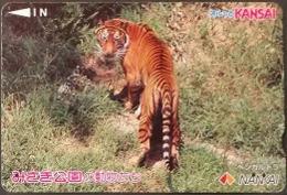 Prepaidcard  Japan -  Tiger - Japan
