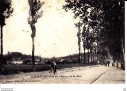 70  . Haute Saone : Jussey : Vue Prise De L' Avenue  De La Gare . - Sonstige Gemeinden