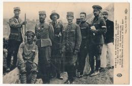 CPA - Aux Dardanelles 1914-1915 - Les Généraux Bailloud Et Gouraud à Sedul-Bahr - War 1914-18