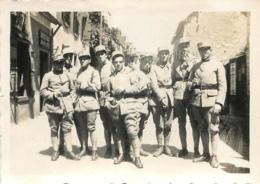 CESSON ILE ET VILAINE  SOLDATS DU  41em REGIMENT INFANTERIE  PHOTO ORIGINALE 8.50 X 6 CM - War, Military