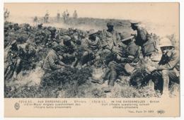 CPA - Aux Dardanelles 1914-1915 - Officiers D'Etat-Major Anglais Questionnant Des Officiers Turcs Prisonniers - War 1914-18