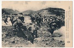 CPA - Aux Dardanelles 1914-1915 - Une Charge - Guerra 1914-18