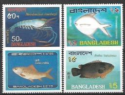 BANGLADESH FISH STAMPS SET MNH - Bangladesch