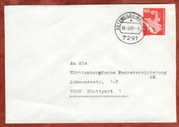Brief, Roentgengeraet, Betzweiler-Waelde Nach Stuttgart 1980 (79308) - BRD