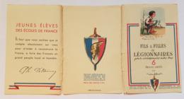 CARNET - CARTES POSTALES - POULBOT - FILS ET FILLES DE LEGIONNAIRES - 6 DESSINS INEDITS - PROPAGANDE - PETAIN - Documenti