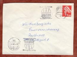Brief, Roentgengeraet, MS Heilbronn, Nach Stuttgart 1980 (79309) - BRD