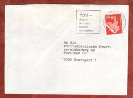 Brief, Roentgengeraet, MS Oberhausen, Nach Stuttgart 1981 (79310) - BRD