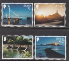 2018 Jersey Bridges Europa Complete Set Of 4 MNH @  BELOW Face Value - Jersey