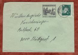 Brief, Traktor, MS Rottenburg, Nach Stuttgart 1982 (79313) - BRD
