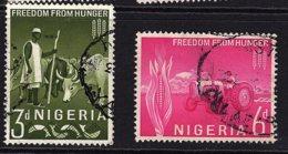 Nigeria, 1963, SG 129 - 130, Used - Nigeria (1961-...)