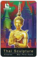 Thailand - LENSO (Chip) - Kinaree (Wat Phra Kaew), Chip AX01, 300฿, Used - Thailand