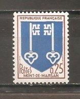 Francia-France Nº Yvert 1469 (MNH/**) - Francia