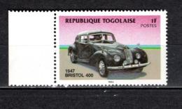 TOGO N° 1153  NEUF SANS CHARNIERE COTE  0.30€  AUTOMOBILE VOITURE ANCIENNE - Togo (1960-...)