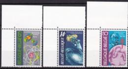 1982, Belgien, 2088/90,  MNH **, Wissenschaft - Belgien