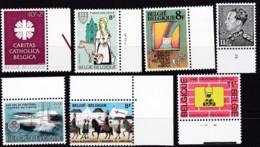 1983, Belgien, 2130+41/42+52/54+63,  MNH **, Lot Mit Kleinen Werten. - Belgien