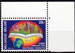 1983, Belgien, 2136,  MNH **,  Verband Der Periodischen Presse (FIPP) - Belgien