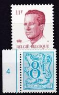1983, Belgien, 2137+43,  MNH **, Freimarken - Belgien