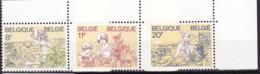 1983, Belgien, 2138/40,  MNH **, Frauen. - Belgien
