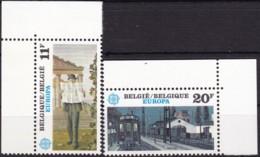 1983, Belgien, 2144/45,  MNH **,  Europa: Große Werke Des Menschlichen Geistes. - Belgien