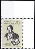 1983, Belgien, 2158,  MNH **,  100. Todestag Von Hendrik Conscience. - Belgien