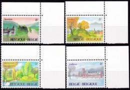 1983, Belgien, 2148/51,  MNH **,  Tourismus. - Belgien